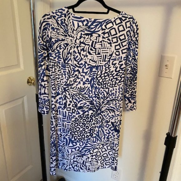 Lilly Pulitzer 3/4 Sleeve Dress Size Small